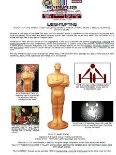 オスカー像のパクリがネットで販売!さすがのアカデミー賞も訴える