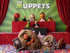 マペッツがハリウッドの星を獲得 カーミットやミス・ピギーがあいさつ