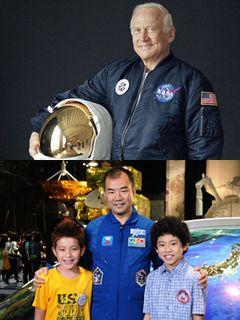 『宇宙兄弟』に宇宙飛行士・野口聡一と共にバズ・オルドリンが出演!月面に星条旗を立てた伝説的存在!