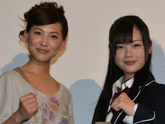 アクション初挑戦の谷村美月、空手美少女長野じゅりあと本格的アクション!
