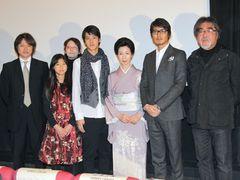 福島全県ロケを行った映画『トテチータ・チキチータ』が初日を迎え、立ち見も出る大盛況