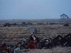 大杉漣の長男で写真家の大杉隼平、被災地支援の写真展開催 警戒区域解除されたばかりの福島県南相馬市写す