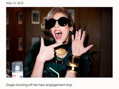左手薬指に指輪をはめた写真を投稿されたレディー・ガガ 婚約の事実はなし