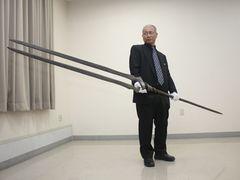 「エヴァ」ロンギヌスの槍がお披露目!話題の日本刀とのコラボ展!