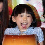 芦田愛菜、自分の顔サイズの特大プリンにびっくり感激!「早く食べたい!」