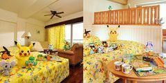 ポケモンだらけのホテル客室!北海道、九州、沖縄22ホテルで展開!