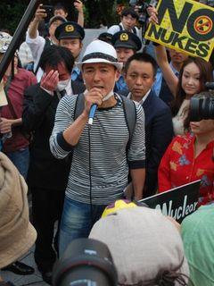 原発再稼動反対デモに、アジカンやマキシマム ザ ホルモンのメンバーも参加! 山本太郎「この熱を感じてほしい」!