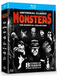 モンスターファン集まれ!フランケン、ドラキュラ、狼男などクラシックホラーの傑作8作品を収録したブルーレイボックス発売決定