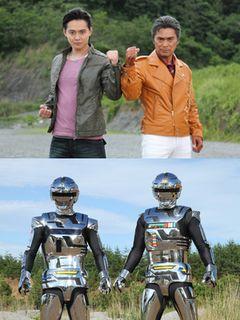 「宇宙刑事ギャバン」映画化決定!石垣佑磨と大葉健二、Wギャバンが蒸着!