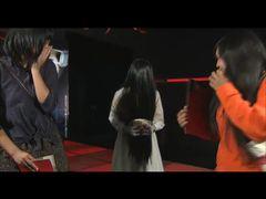 """貞子、乱入で奇声!後輩ホラー映画のCMで""""恐演"""""""