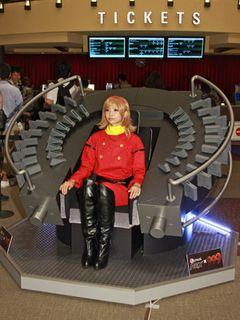『009 RE:CYBORG』の世界にようこそ!実物大「ダイブギア」が映画館に登場!