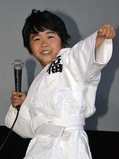 格闘技好きの鈴木福くん、将来はアクション俳優になりたい!