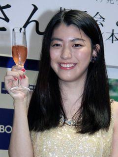 20歳になった成海璃子、渋い!飲んでみたいお酒は「日本酒」