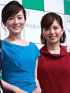 フリー転身の中野美奈子、高島彩と「めざまし」ツーショット披露!