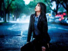 竹内結子、ずぶ濡れ!愛か狂気か!? 衝撃のビジュアル公開!