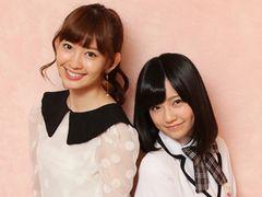 AKB48小嶋陽菜&島崎遥香、ジャニーズのすごさを実感!同じアイドルとしてAKB48の良さは?