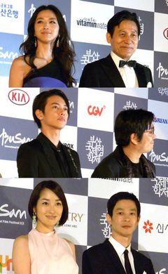 第17回釜山国際映画祭、開幕!佐藤健、加瀬亮もレッドカーペットに登場!