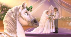 『塔の上のラプンツェル』続編、ついに映像が公開! 結婚式をめぐるドタバタ劇!