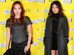 KARAハラ、Wonder Girlsユビン「GRAZIA」創刊パーティーに参加 「真のアイドルファッショニスタ」<韓国JPICTURES>