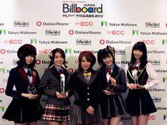 AKB48、ビルボード・ジャパンで2年連続「今年最も活躍したアーティスト」に!新人賞は、家入レオが受賞!