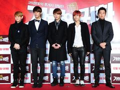 BEASTとチャン・ヒョク、ユン・ドゥジュンの応援に 『家門の帰還』VIP試写会出席<韓国JPICTURES>