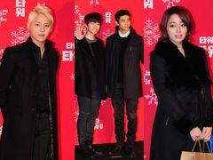 JYJジュンス、2PMジュノとテギョン、イ・ミンジョンが映画『タワー』VIP試写会に出席<韓国JPICTURES>