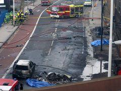 ロンドンのヘリ墜落事故、パイロットは『プライベート・ライアン』など映画製作にも従事