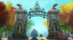 『モンスターズ・インク』サリー&マイクの学生時代描く『モンスターズ・ユニバーシティ』のコンセプトアート公開!