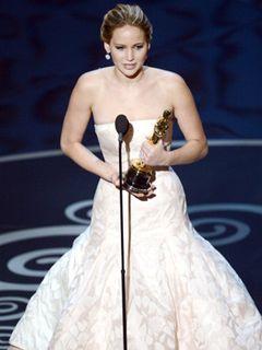 主演女優賞はジェニファー・ローレンス!2度目のノミネートで栄冠