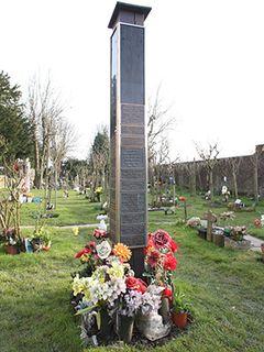 故フレディ・マーキュリーさんの墓と思われた場所から金属版が消滅