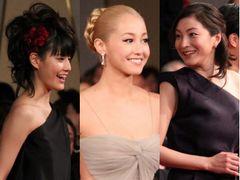 日本アカデミー賞、ファッションの流行は黒!女優陣が華麗に競演!