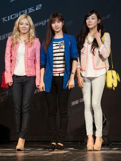 少女時代、SISTAR、東方神起ら韓流スターが『G.I.ジョー2』のレッドカーペットを華やかに!<韓国JPICTURES>