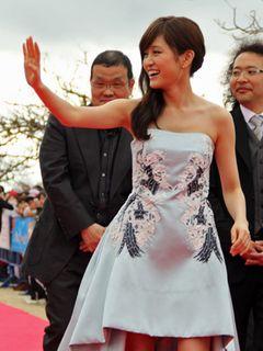 前田敦子、沖縄国際映画祭で念願!「女優としてレッドカーペットを歩くのが夢だった」