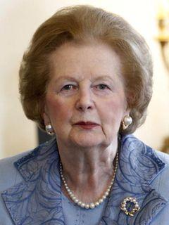 「鉄の女」サッチャー元英首相死去 享年87歳