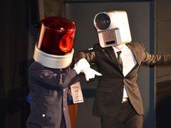 映画泥棒が乱入!意表をつく演出で著作権保護を猛アピール
