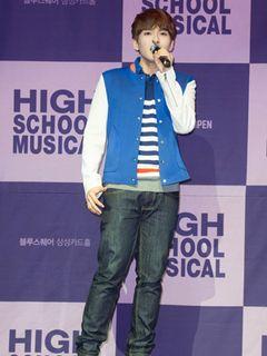 「ハイスクール・ミュージカル」SUPER JUNIORリョウク、バスケットボール部キャプテントロイは僕に似ている<韓国JPICTURES>
