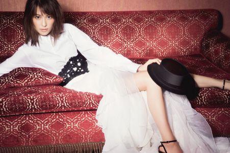 海外モデルの様な青木裕子