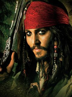 ジョニー・デップ、海賊姿で病院訪問