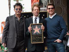 ジョニー・デップ&トム・クルーズが祝福!ジェリー・ブラッカイマー、ハリウッド殿堂入り!