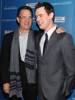 トム・ハンクスがまたおじいちゃんに 息子コリンに第2子女児誕生!