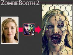 顔写真を超リアルなゾンビに!特殊メイクアーティストとコラボした変身アプリが登場!