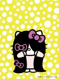 キティちゃんがまた貞子になった!前髪増やして怖さアップ?