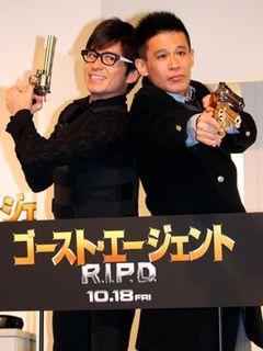 柳沢慎吾&オリラジ藤森、W慎吾で新コンビ結成!新ネタも披露