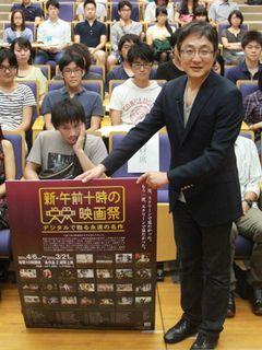 町山智浩、「あまちゃん」は現代版『ローマの休日』? 20世紀名作映画の魅力を学生に語る