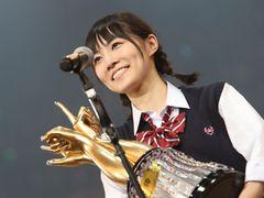 AKB48じゃんけん大会優勝は松井珠理奈!全てパーで単独センター獲得!
