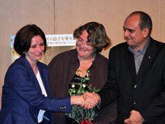 『もうひとりの息子』上映会で感動の瞬間 イスラエル特命全権大使とパレスチナ駐日大使が固い握手