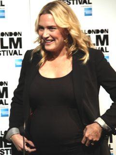 妊娠中のケイト・ウィンスレットが超ふくよかに!ロンドン映画祭に登場