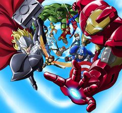 アニメ「アベンジャーズ」が日本で製作・放送へ!スパイダーマンも参戦!