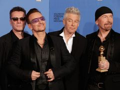 U2ボノ、マンデラ元大統領への追悼スピーチ!伝記映画主題歌でGG賞を受賞
