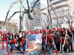 『アメイジング・スパイダーマン2』限定チケットが40分で完売 深夜0時から並ぶ強者も